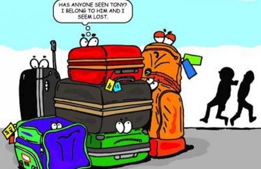 Travel tips για να μην χάσετε τη βαλίτσα σας στο αεροδρόμιο.